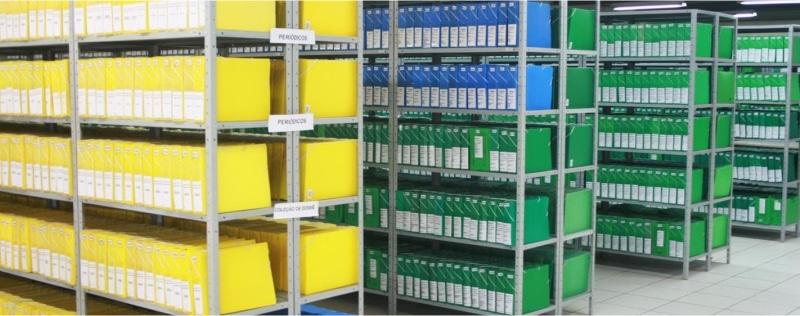 armazenar documentos da escola