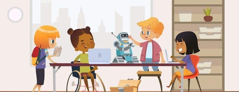 inclusão nas escolas
